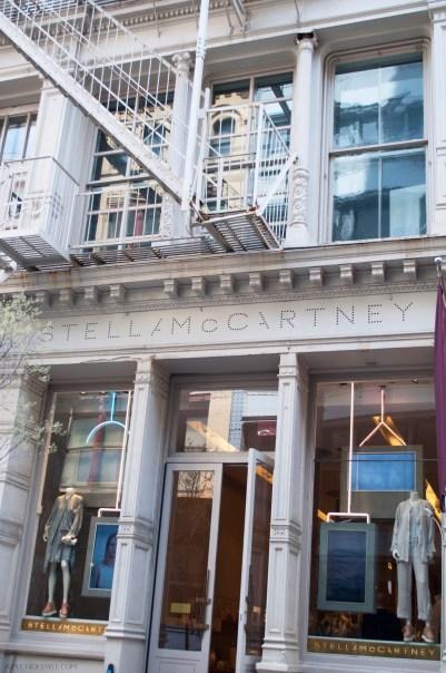 Stella McCartney store in Soho, New York City