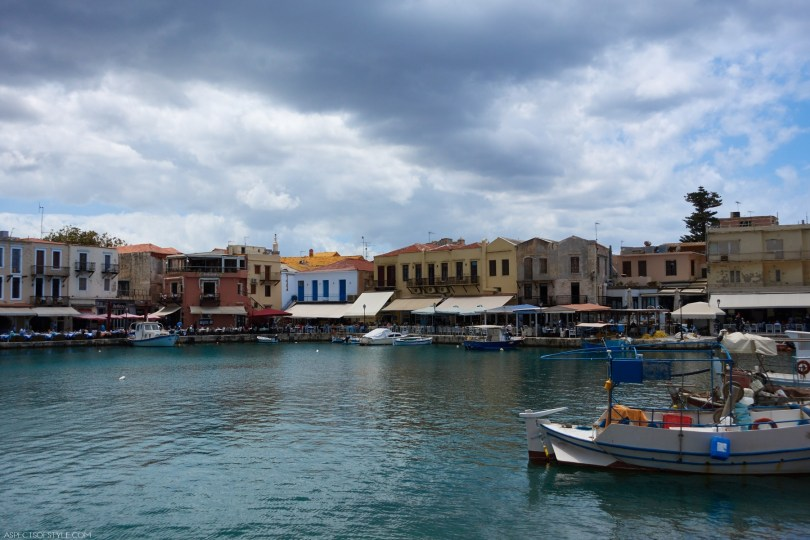 Rethymno old port, Crete, Greece