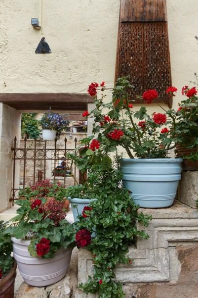 Avli restaurant, Rethymno, Crete, Greece