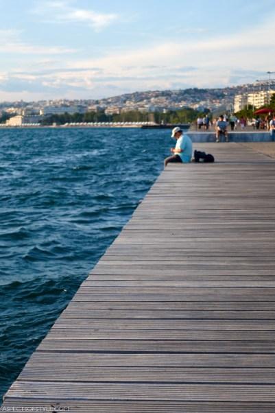 Thessaloniki seaside promenade