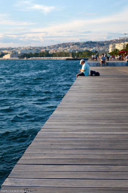 Thessaloniki seaside promenade