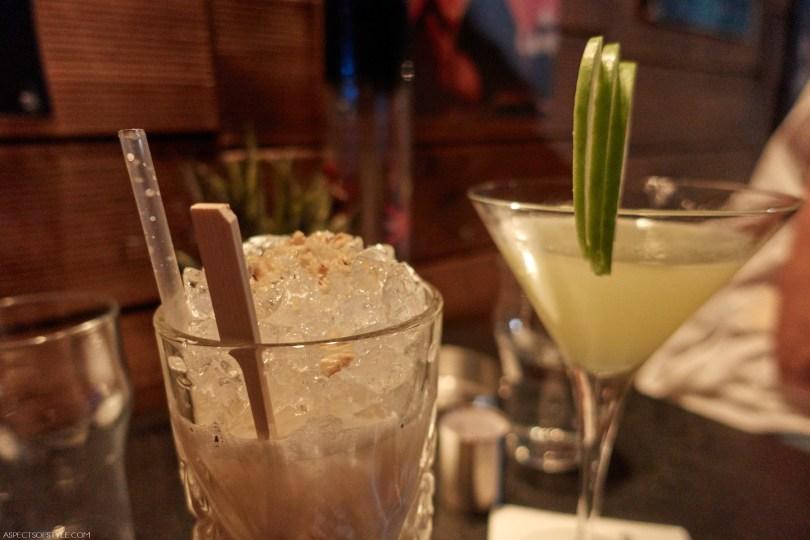 cocktails at Saxofono bar, Thessaloniki