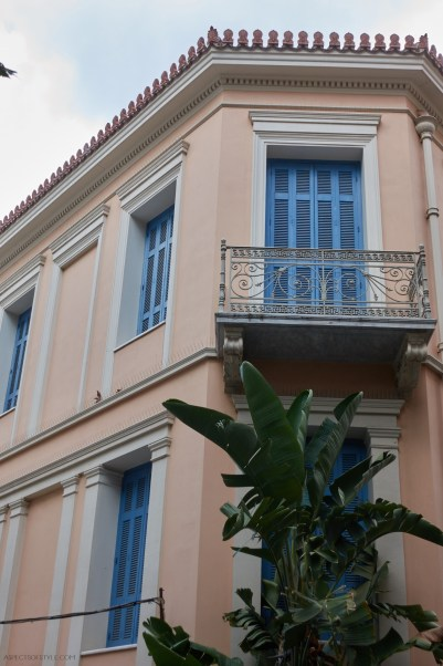 house in Plaka, Athens