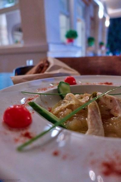 Sea bream ceviche in Kouzini, Elafonisos, Greece