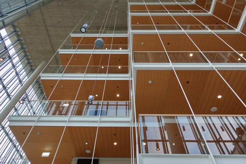 inside the Opera building Stavros Niarchos Foundation Culture Center