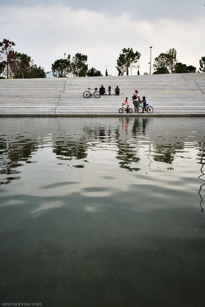 Stavros Niarchos Foundation Culture Center - the canal