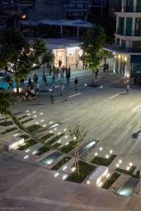 Kozani central square, Greece