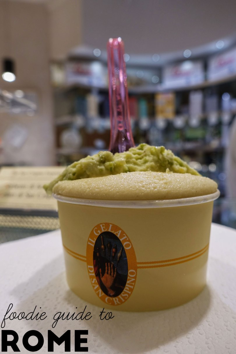 Foodie Guide to Rome, Gelateria di San Crispino