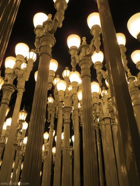 Urban Light Sculpture, LACMA, Los Angeles