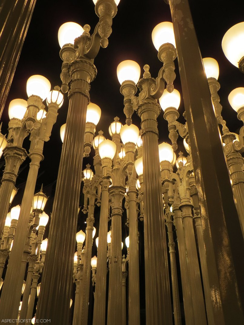 Urban Light Sculpture, LACMA, Los Angeles