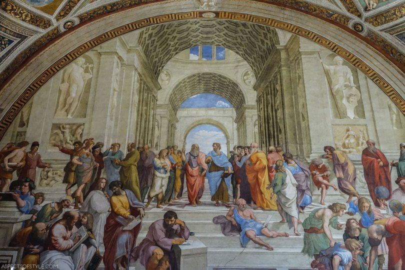Raphael School of Athens, Vatican Museums