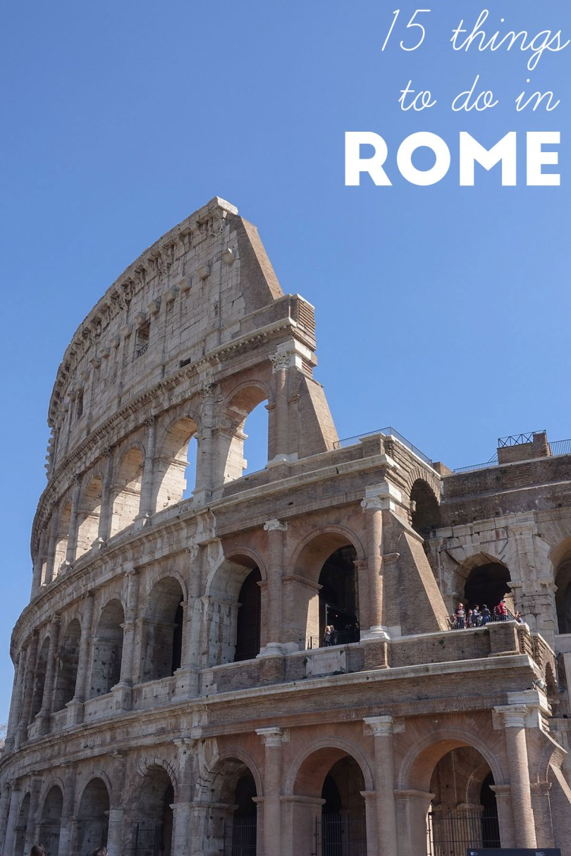 15 things to do in Rome | Aspects of Style