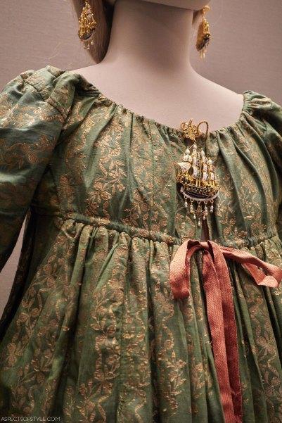 Greek traditional dress in Benaki museum in Athens