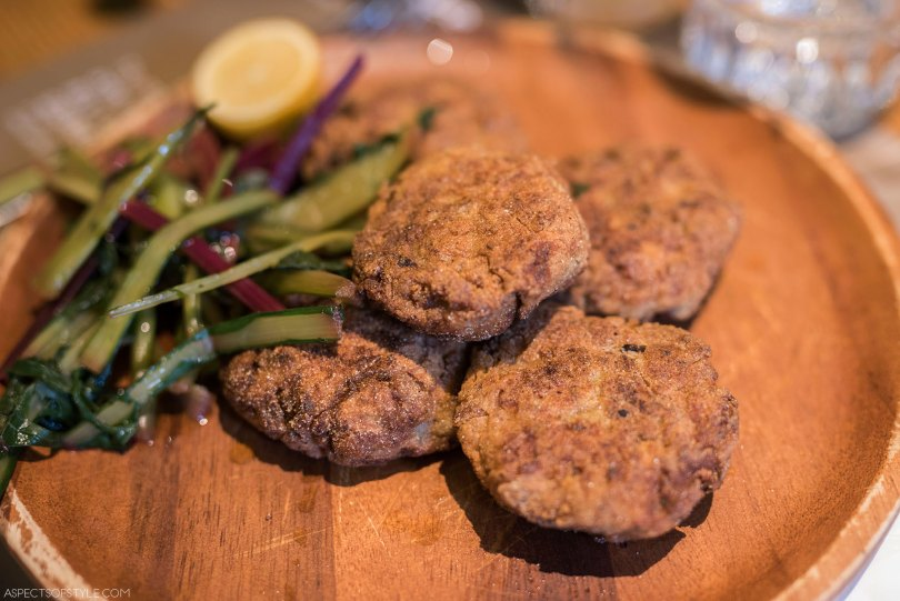 hand cut burgers at Peskesi restaurant, Heraklion Crete