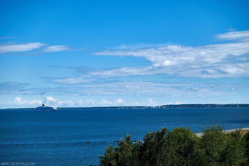 view from Linnahall, Tallinn, Estonia