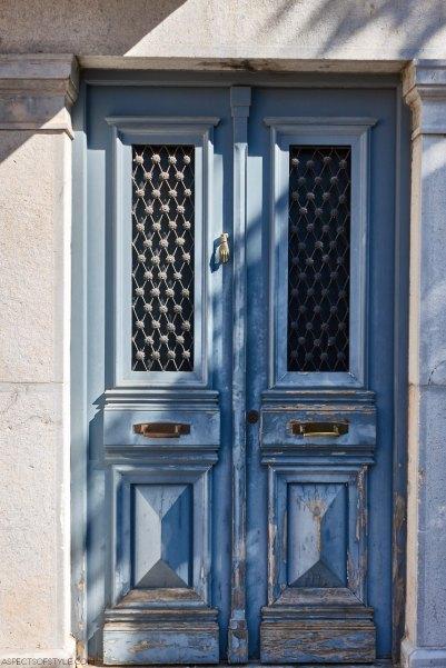 door in Kardamyli, Peloponnese, Greece