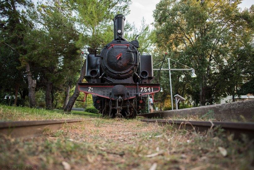 Kalamata Railway park, Peloponnese, Greece