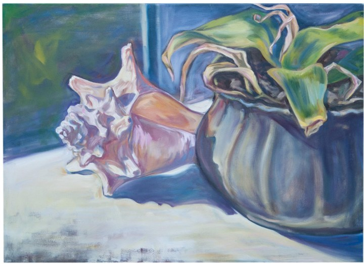 """""""Vessels"""" Oil on canvas"""