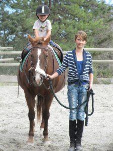 pony ride parties at Aspengrove Country Resort Veron BC