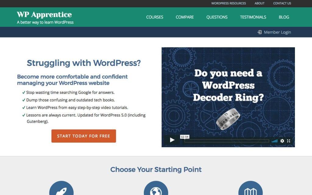 Didacticiels WP Apprentice WordPress