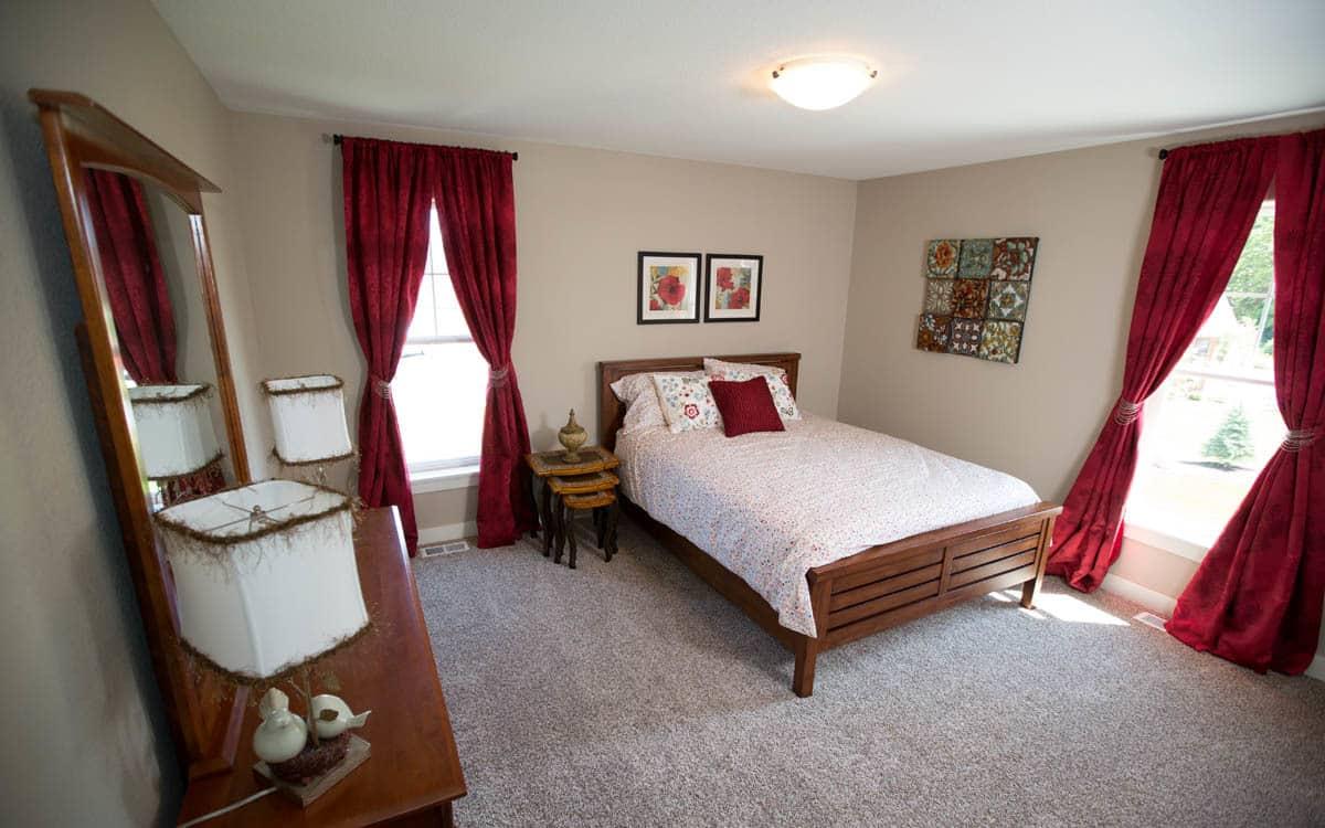 woodmont bedroom aspen homes inc