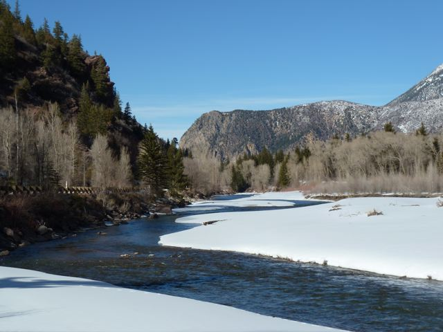 The Crystal River, just downstream from Redstone.