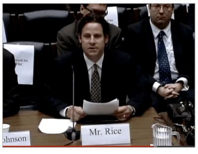 Rice at Congress