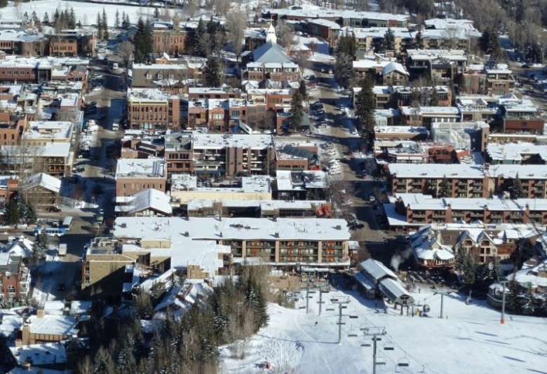 Downtown Aspen, where energy expert Amory Lovins says the city of Aspen should look for energy efficiencies before building a proposed hydro plant.