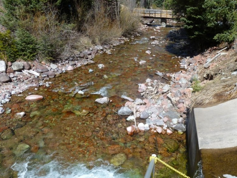 Maroon Creek, just below the City of Aspen's diversion structure near T-Lazy-7 Ranch.