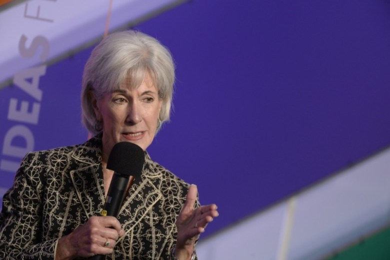 Former HHS Sec. Kathleen Sebelius at the Aspen Ideas Festival on Friday, June 27, 2014.
