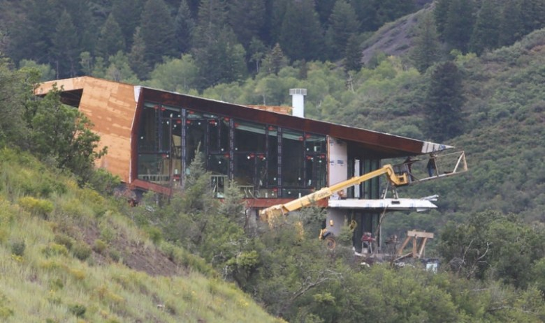 Locals are questioning the approval of a new home being built on Owl Creek Road in Snowmass Village that hinders views.