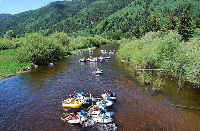 As many as 100 people per day float the Roaring Fork River through the North Star Nature Preserve on busy summer weekends.
