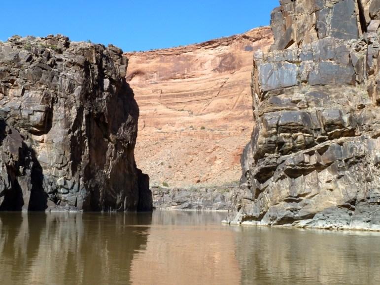 The Colorado River, en route to Lake Powell.
