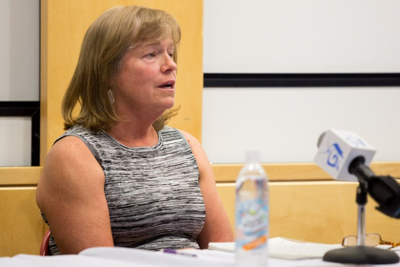Candidate Mary Houchin
