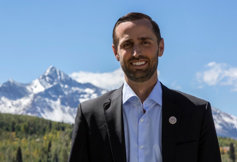 James Eklund, the director of the CWCB, hails from a Western Slope ranching family. He often works to  add a touch of levity to otherwise serious-minded state-level water meetings.