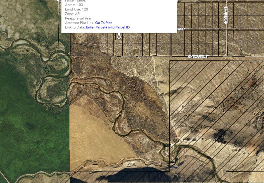 GIS Close, river