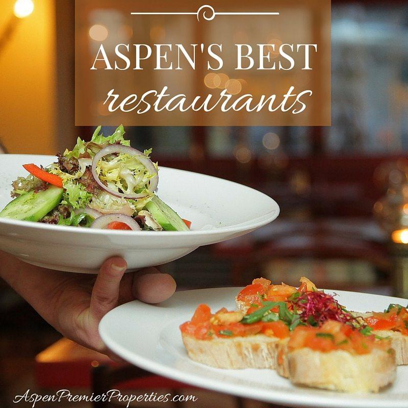 Aspen's Best Restaurants - Homes for Sale in Aspen