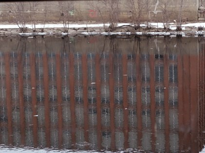 Reflection on the Merrimack River