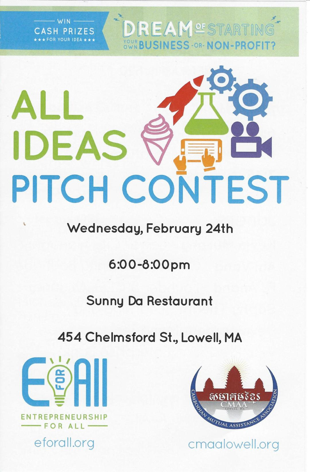 EforAll Pitch Contest