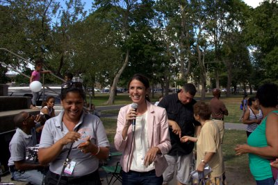 Diana DiZoglio with Program Director
