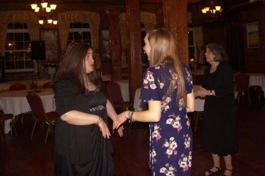 Lisa & Jenn Dancing