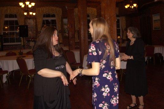 Lisa & Jenn Dancing