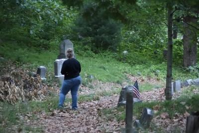 Looking at graves