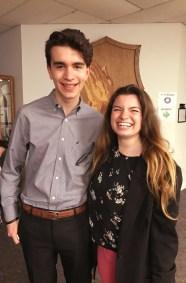 Josiah Morrow and Sophia LaCortiglia