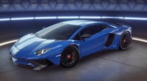Lamborghini Aventador SV Coupe