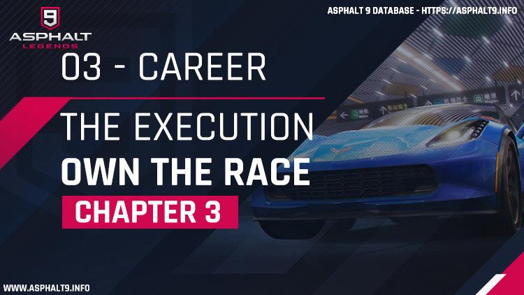 carreira a execução possui o capítulo de corrida 3