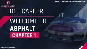 carrière welcome to asphalt chapitre 1