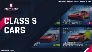 class s cars