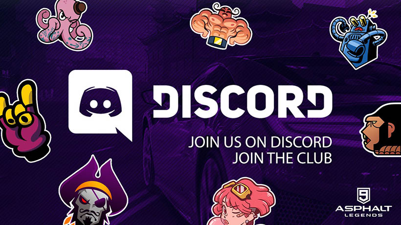 Asphalt 9 Legends Discord Server ufficiale