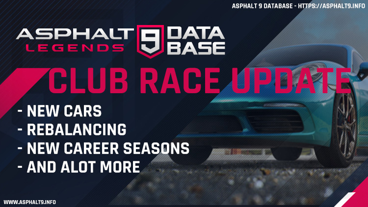 club race update